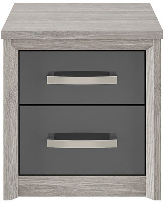 Kingstown Cosmos 2 Drawer Bedside Table Bedside Tables Rodgers