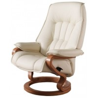 Himolla Elbe Narrow & High Recliner with Adjustable Headrest