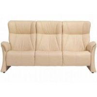 Himolla Lune 3 Seater Highback Sofa Gas Sprung Back