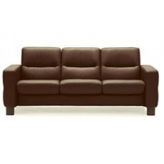 Stressless Wave Low Back 3 Seater