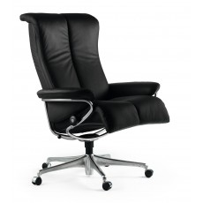 Stressless Blues Medium Office Chair