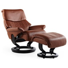 Stressless Spirit Large Chair With Footstool