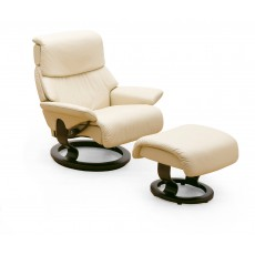 Stressless Dream Medium Chair With Footstool
