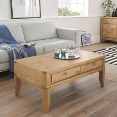 Bentley Designs High Park Coffee Table with Drawer