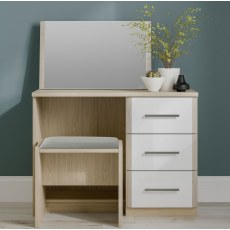 Kingstown Azure Dressing Table & Stool