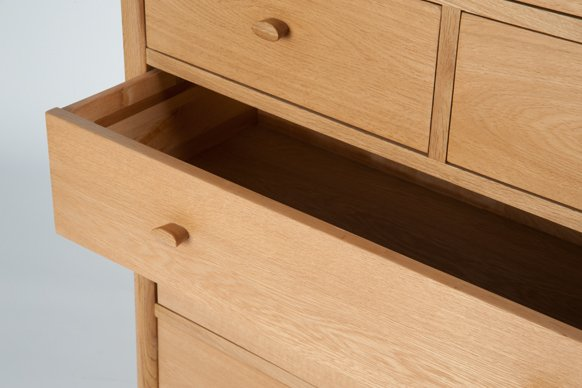 Ercol Ercol Teramo 7 Drawer Tall Wide Chest