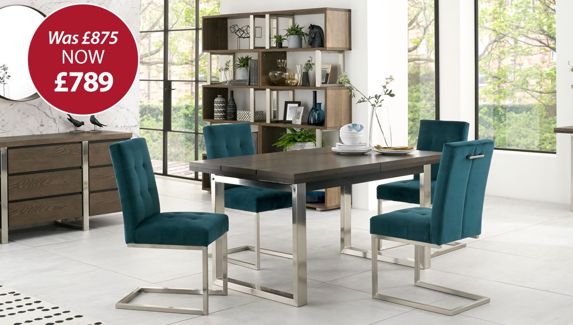 Tivoli 4 – 6 Seat Dining Table