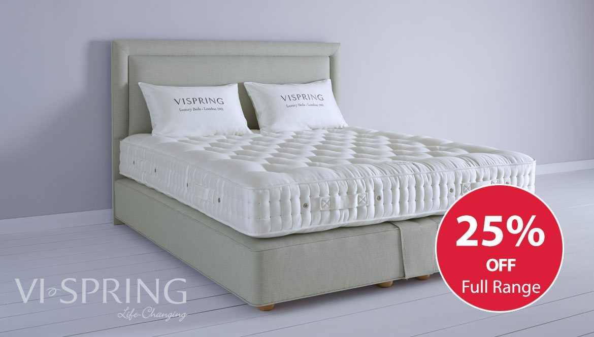 Vi Spring Baronet Superb Divan Bed