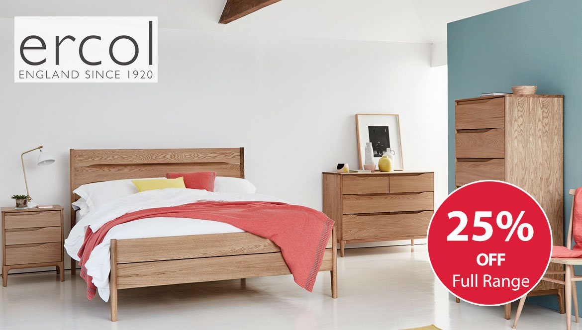 Ercol Rimini Bedroom Collection