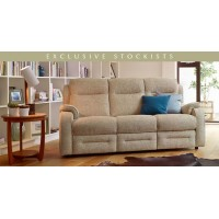 Parker Knoll Boston Pow 3 Seater Rln Sofa