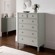 Winsor Abella Elegance 2 Over 4 Drawer Chest
