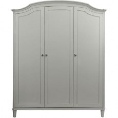 Winsor Abella Elegance Triple Wardrobe - Arched Top