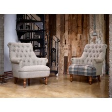Wood Bros Pickering Chair and Compact Sofa