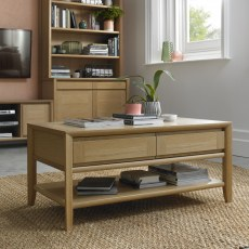 Bentley Bergen Coffee Table with Drawer