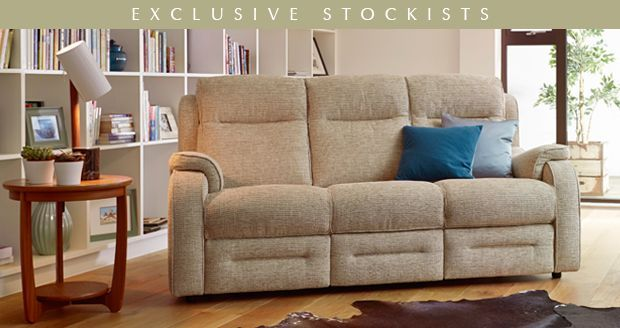 Parker Knoll Parker Knoll Boston Pow 3 Seater Rln Sofa