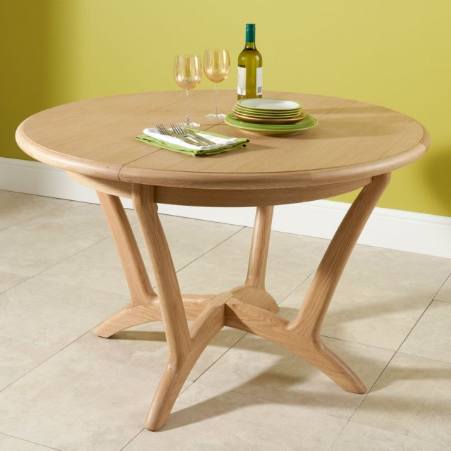 884d14b9733 Winsor Stockholm Round Extending Dining Table - Extending Dining ...
