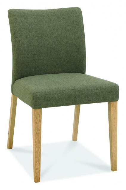Bentley Designs Bentley Bergen Oak Upholstered Chair (Pair)